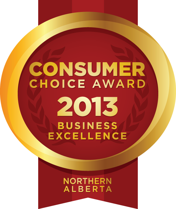 Tile Town Winner of Consumer Choice Award - Northern Alberta - 2013